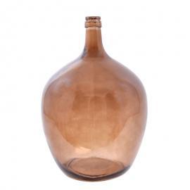 Μπουκάλι φυσητό γυαλί καφέ μεγάλο 1-514-82-011 1-514-82-011