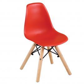ART Wood Kid καρέκλα Ξύλο/PP Κόκκινο 32x34x57cm ΕΜ123,ΚR