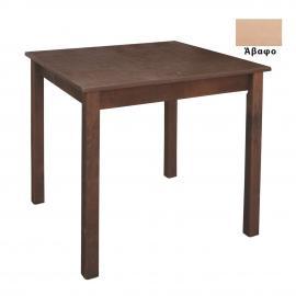 Ταβέρνας Τραπέζι Κ/Π Λυόμενο Άβαφο 70x70x75cm Ρ515,0